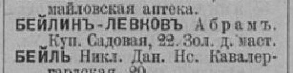 Ves St. Petersburg 1895 Beyl